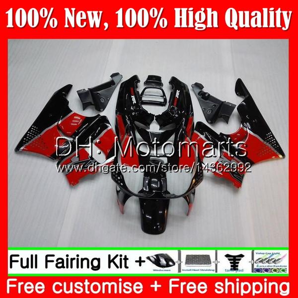 Body For HONDA CBR 893RR CBR900RR CBR893RR 89 90 91 92 93 70MT9 Hot Red black CBR900 CBR893 RR 1989 1990 1991 1992 1993 Fairing Bodywork