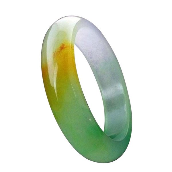 Natural Beautiful Emerald 3 Colors Green Nephrite Jade Bangle Bracelet Morther Gift Gemstone Jewelry J 190513