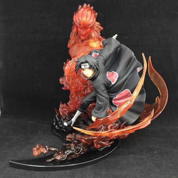 21 cm Naruto Uchiha Itachi Anime Action Figure PVC Neue Sammlung figuren spielzeug brinquedos Sammlung