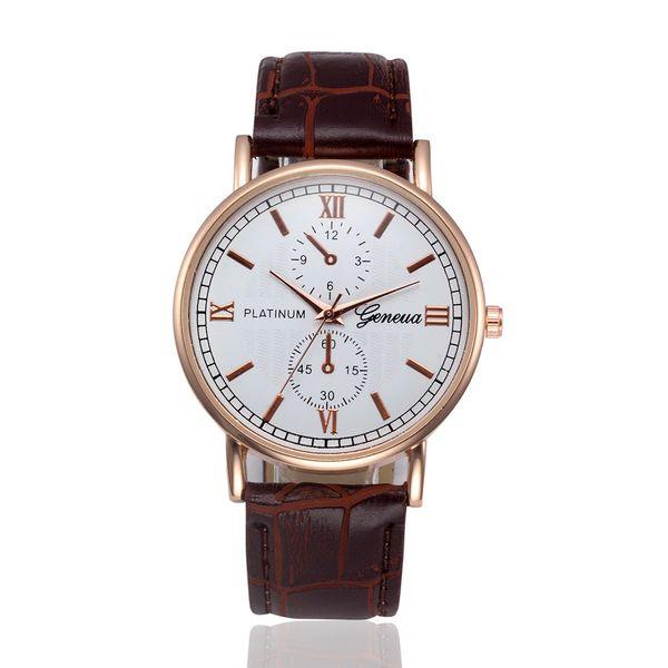 Zerotime #501 2019 NEW Retro Design Leather Band Analog Alloy Quartz Wrist Watch top luxury for boy girls hot sale Free Shipping