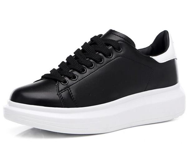 De Cuero Ocasionales La Señora Zapatos De Compre 2019 Negro Para Plataforma Hombre Zapatos De Para De Nuevo La Mujer Moda Lujo Los Negro De Planos EDHW9eY2I
