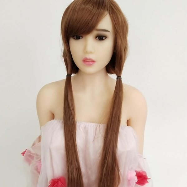 free shpping hot products top 20 black or white color sex doll silicone women real doll made in china