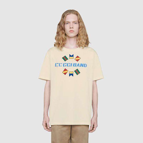 20SS Luxus Europäischer Brief Logo T Art und Weise Baumwolle-Qualitäts-Kurzschluss-Hülsen Paare Frauen-Männer-Designer-T-Shirt HFKYTX043