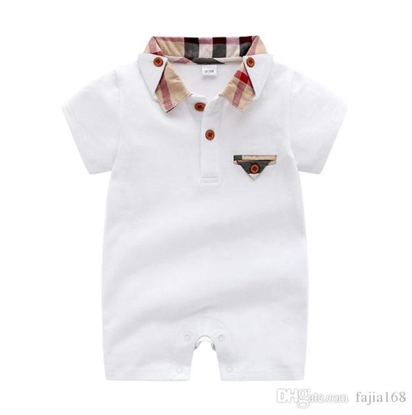 20120 Baby Boys Rompers Short Sleeve Infant Jumpsuits Summer Baby Girls Clothing Sets Cartoon Newborn Baby Clothes for 3-24 Month