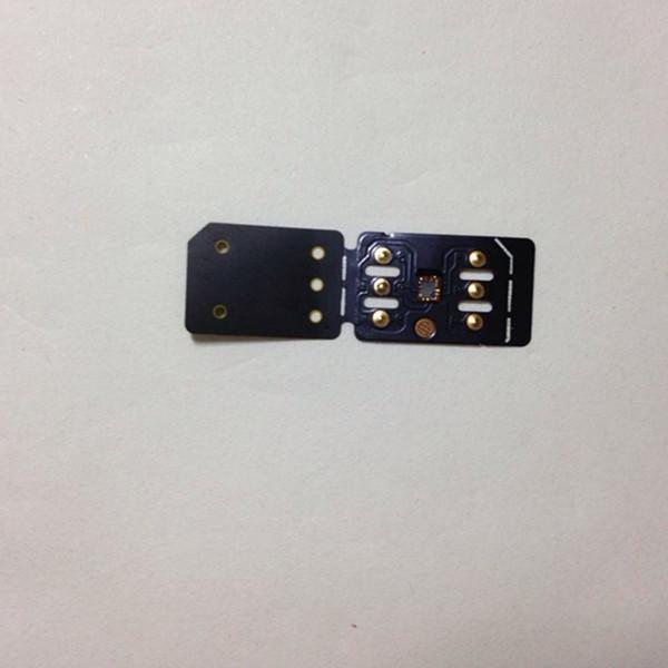 DHL Free New Black Unlock Card TMSI ICCID Mode per iPhone XR XS Max iOS 12.4 Double-sim Auto Pop-up Menu