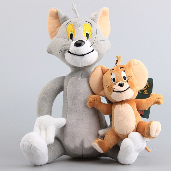 New Tom and Jerry 30cm/17cm Plush Doll Soft Toy Cute Stuffed Doll Toys Children party gift