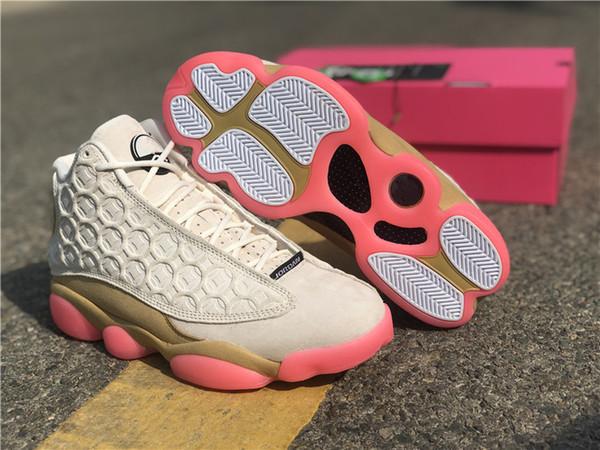 2020 Новые 13s Баскетбол обувь 13 медных монет CNY празднует китайский год Upper качества Аутентичные Mens спорта тапки с коробкой