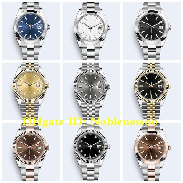 best selling 19 Style 2020 Hot Watch Men's 126333 126303 126331 126334 126300 126301 41mm Oyster bracelet Jubilee Bracelet Asia 2813 Automatic Watches