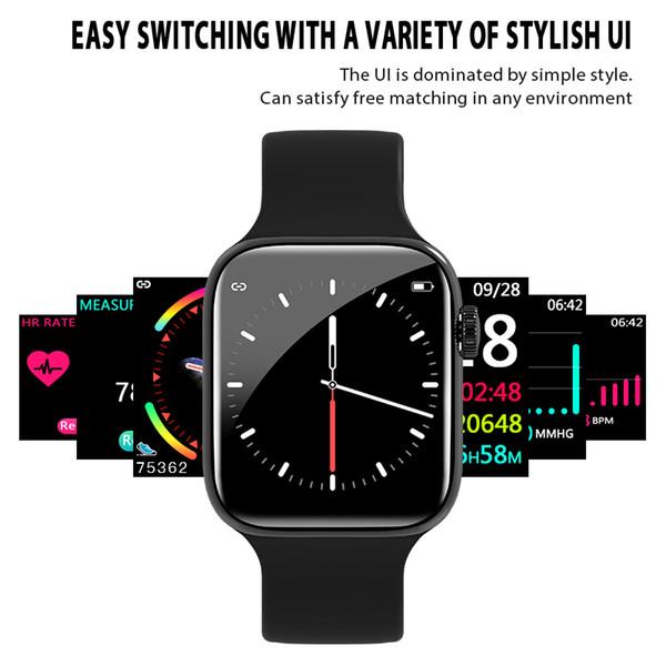 relógio inteligente 4 Series 44 milímetros 4 Bluetooth Smartwatch Heart Rate Monitor Esporte para iPhone Xiaomi 11 Relógios iWatch x xs Goophone