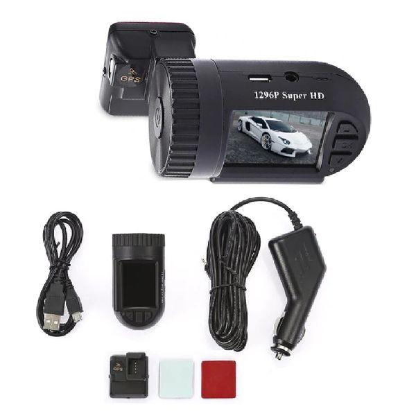1PC Mini 1.5 pulgadas 1296P HD Pantalla LCD GPS Car DVd Videocámara