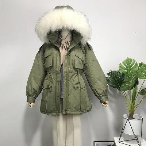 vert fourrure blanche