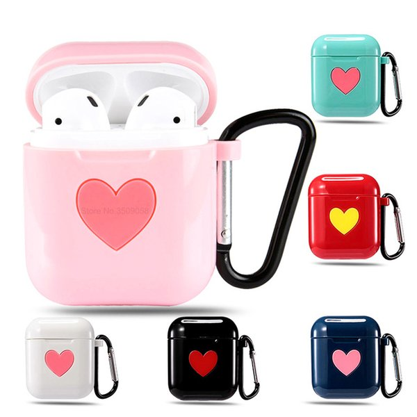 Cute Bluetooth Wireless Earphone Case For Apple AirPods case Protective Cover TPU Silicone Charging Headphones Case For Air pods