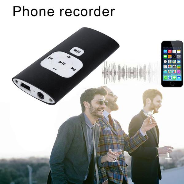 Telefonanrufe Recorder Tonaufnahme Sprachwiedergabe Diktiergerät für iOS Android-Telefone JLRL88
