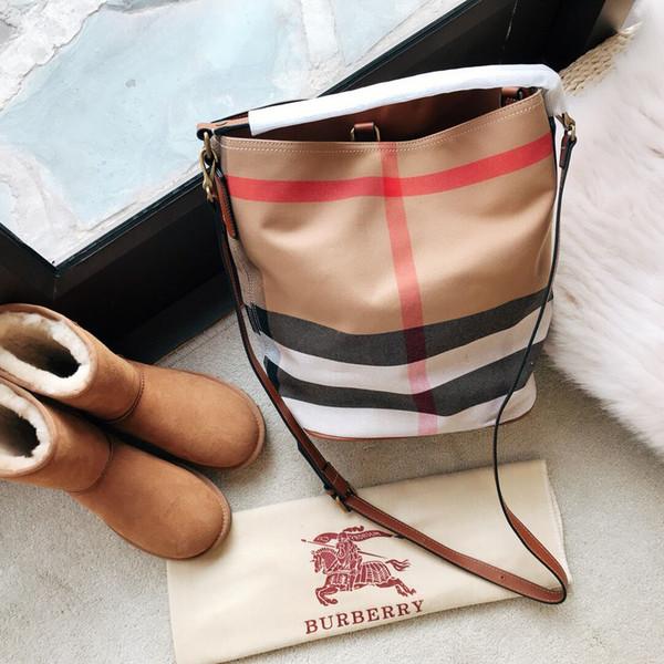 Англия стиль новая мода женщины сетки ткань ведро Сумка досуг плечо сумка три цве