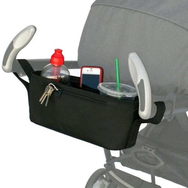 Stroller Organizer Baby Carriage Pram Buggy Cart Bottle Bag Stroller Accessories
