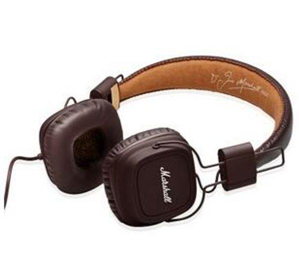 Hot Marshall Major fones de ouvido Com Microfone DJ Bass Hi-Fi Fone De Ouvido de Alta Fidelidade Headset Professional DJ Monitor over-ear fone de ouvido Frete Grátis