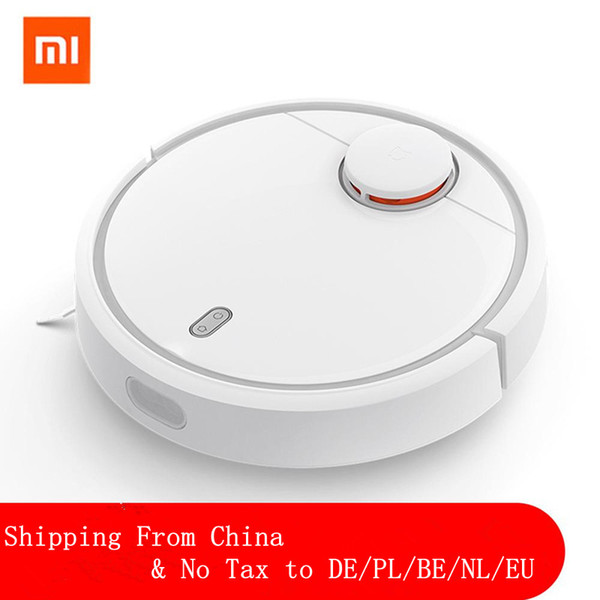 best selling XIAOMI MIJIA MI Robot Vacuum Cleaner For Home Filter Dust Sterilize 1800PA Automatic Sweeping Smart Planned WIFI APP Remote