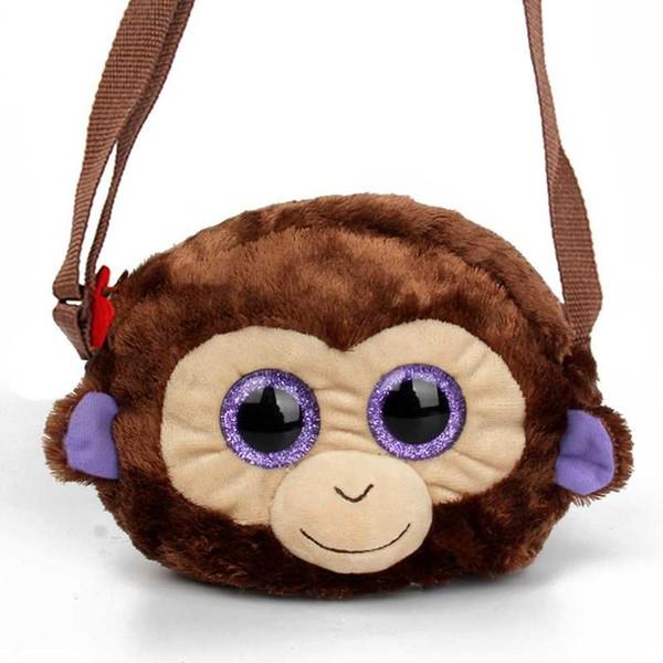 Ty Beanie Simulieren Tiere Kinder Schultaschen Kindergarten Affe Kinder Jungen Plüsch Rucksäcke Cartoon Tiere Mädchen Kinder Taschen