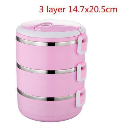 3 층 핑크