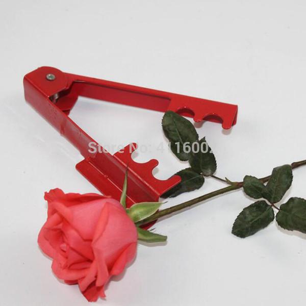 DIY Cut Tool Florist Métal Gardon Fleur Rose Épine Stem Leaf Stripper Rose Pince Enlever Burrs Outil De Jardin 14.3 * 2.5cm