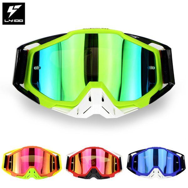 LY-100 Brand Original Package Motorcycle Glasses ATV Casque Motocross Goggles Racing Moto Bike Cycling CS Gafas Sunglasses