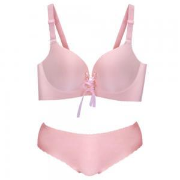 Women bandage Bra Sets Fashion Breathable Bras Thin mold Cup Underwear No Steel Ring Cluster adjustment Underwear GGA1528