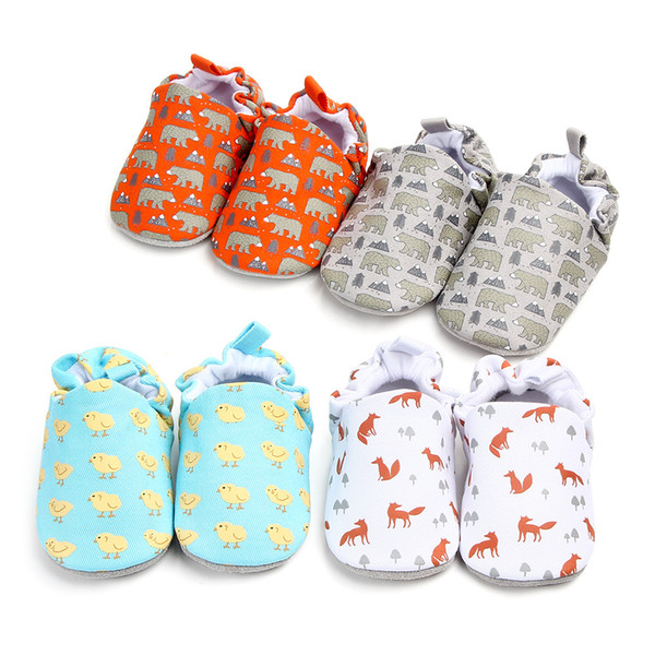 Fashion Soft Sole Booties Cotton Baby Shoes for Newborn First Walkers Sneaker Prewalker Shoes 0-18 M New Children's Walking Shoes