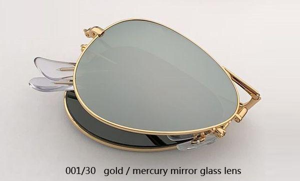 001/30 الذهب / عدسة الزئبق مرآة