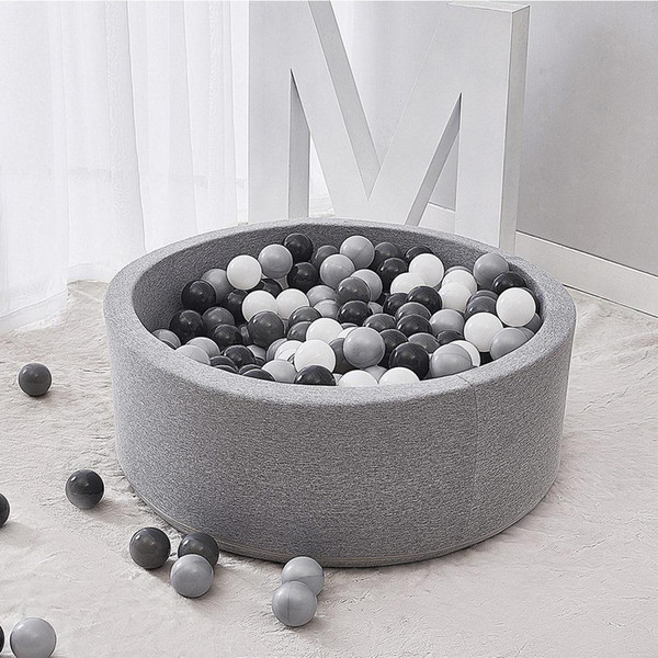 Indoor Soft Comfortable Kids Play Ball Pool Quality Sponge Ocean Ball Pool Deluxe Baby Round Pit Ideal Gift Play