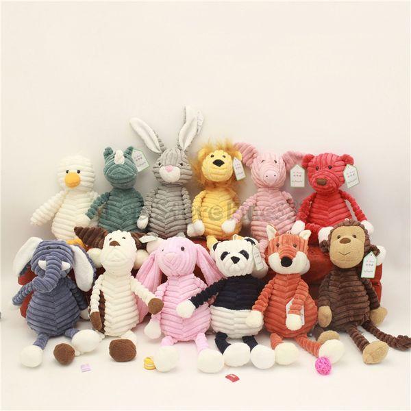 Плюшевые игрушки куклы животных 15 см / 33 см 12модели куклы плюшевые девушки лучший подарок на день рождения для детей