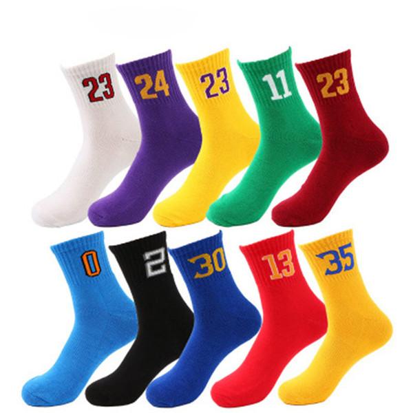 Calzini di pallacanestro Elite di qualità perfetta professionale Calzini di inverno termici di compressione degli uomini di sport atletici di modo Calzini all'ingrosso di inverno di compressione