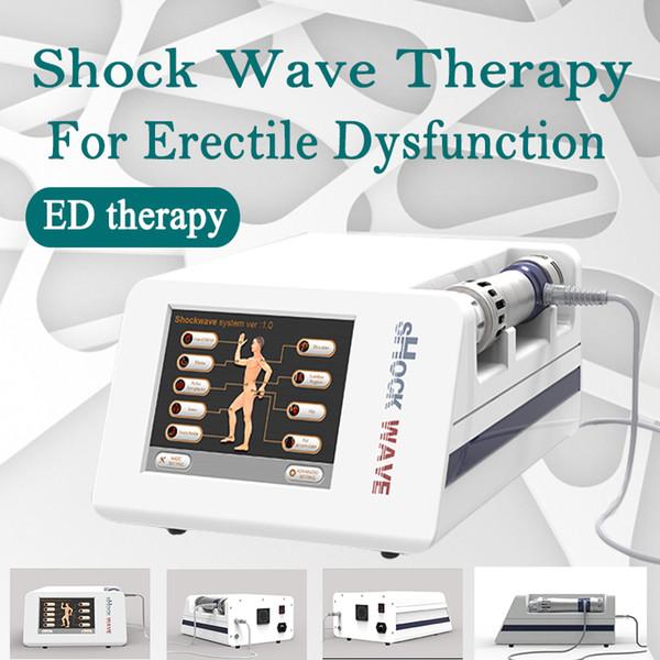 El tratamiento de Gansiwave similar a la EDSWT (disfunción eréctil de choque de alta intensidad) más caliente de Protable, similar a la terapia para la DE y reduce el cuerpo