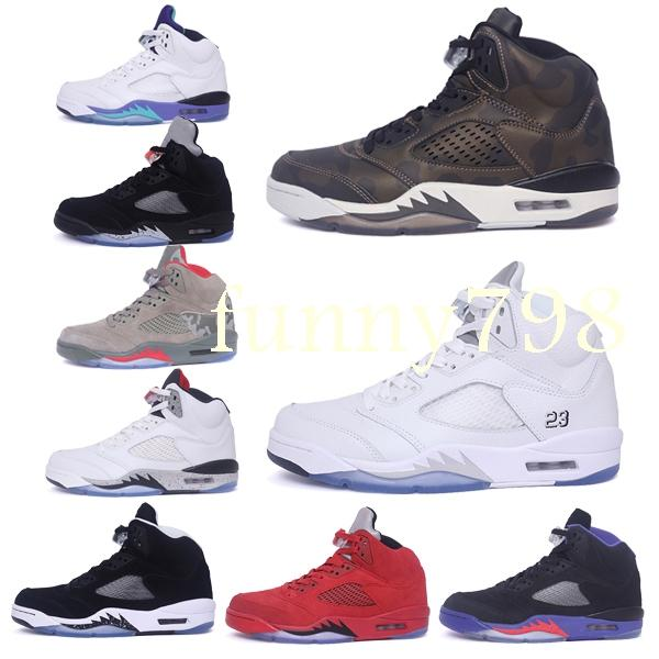 2019 new 5 Mens 5s Basketball Shoes Women Concord men 45 Platinum Designer baskets Sports Trainers chaussures Sneakers