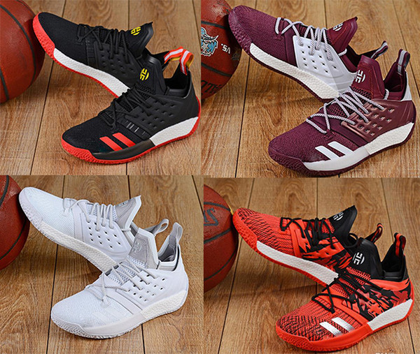 best selling HOT Arrival fashion luxury designer shoes James Harden Vol.2 Basketball Shoes Mens MVP Training Sneakers men Sports running shoes Size 40-46
