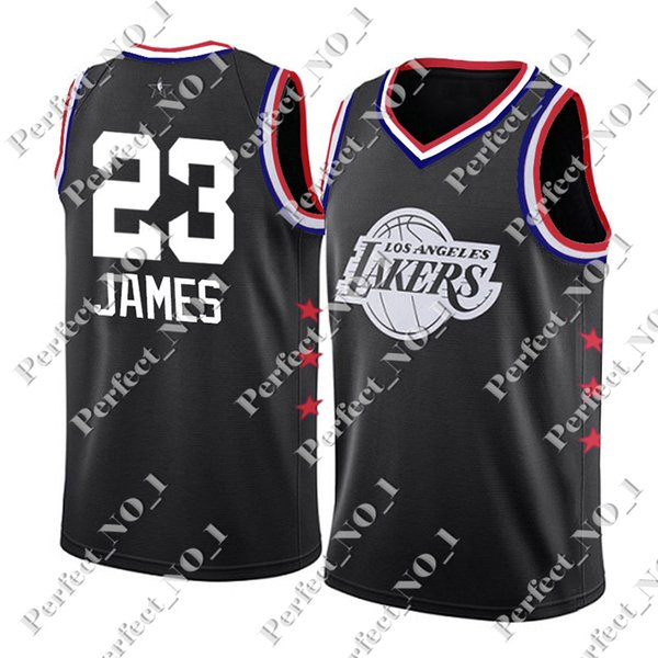 super popular ddd3c 6eadf 2019 2019 New All Star Jersey Lakers LeBron 23 James Dwyane 3 Wade  Basketball New Derrick 25 Rose Kawhi 2 Leonard Stitched Jerseys From  Perfect_no_1, ...