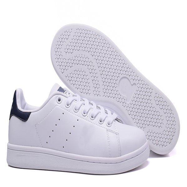 Smith Casual Shoes Top Quality Walking Train For Men and Women Running Sneaker Leather Sports Deck Shoes With Box