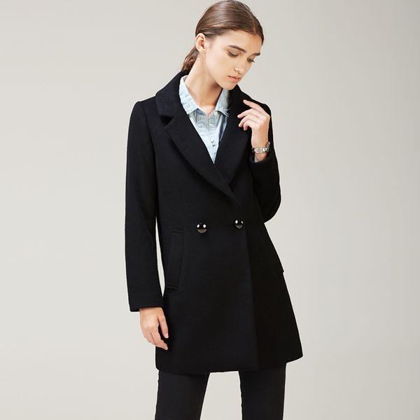 Korean Winter Female Coats for Women Cashmere Plus Size Cape Wool Coat Coat Female Long Section One Button Was Thin Jacket