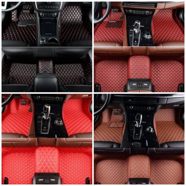 Fit Volvo V90 2017-2019 Custom made Car Floor Mats Front & Rear Liner Accessories Non-slip waterproof All leather Luxury Carpets Pads