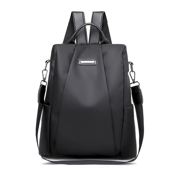 Mode laptop rucksack nylon lade computer rucksack diebstahl wasserdichte tasche für frauen oxford tuch student tasche teenager