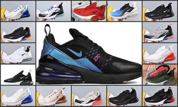2019 Nova Chegada 270 KPU Homens Treino de Treinamento Ao Ar Livre de Treinamento de Plástico Ao Ar Livre esportes 270 s Womens Formadores Zapatos maxes Tênis Tamanho 36-45