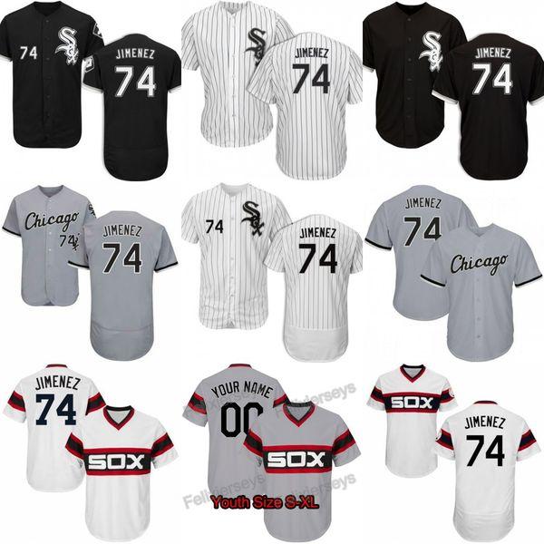 74 Eloy Jimenez Chicago Ivan Nova Ryan LaMarre Leury Garcia Jose Abreu Yoan Moncada Tim Anderson Bianco Sox Matt Skole Trayce Thompson Jersey