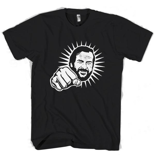 Bud Spencer Punch Light Men's / Women's T Shirt denim clothes camiseta t shirt
