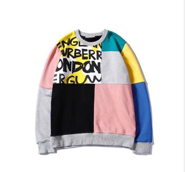Fashion-Italian brand designer men and women sweater shirt men's shirt brand clothing thin section long sleeve youth sports streetwear