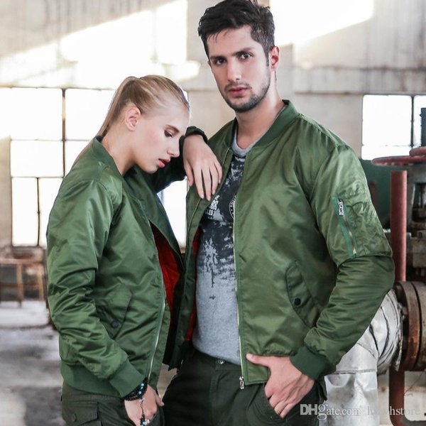 MA1 Men And Women Winter Warm Military Airborne Flight Tactical Bomber Jacket Army Air Force Fly Pilot Jacket Aviator Motorcycle Down Coat 8