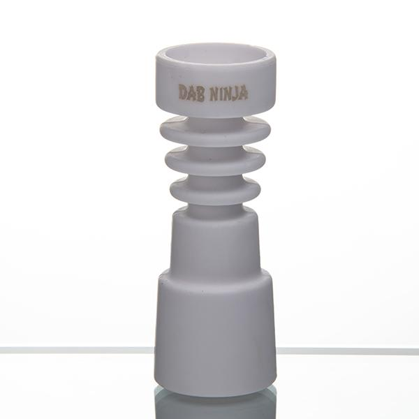 Dab Ninja Ceramic Nail & Carb Cap Domeless Male/Female Universal Fits 14mm 18mm Joint Free Shipping Quartz Titanium Banger Dozer Nail