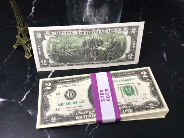 2 Dolars (100pcs)