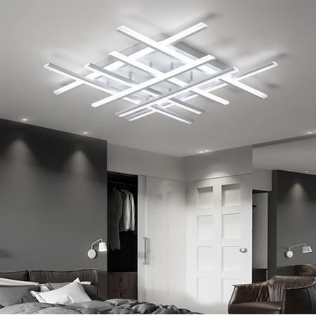 2019 Modern Led Chandeliers Ceiling For Living Room Lights Bedroom Home Dec  Lustre Led Plafonnier White Chandelier Lighting Fixtures LLFA From ...