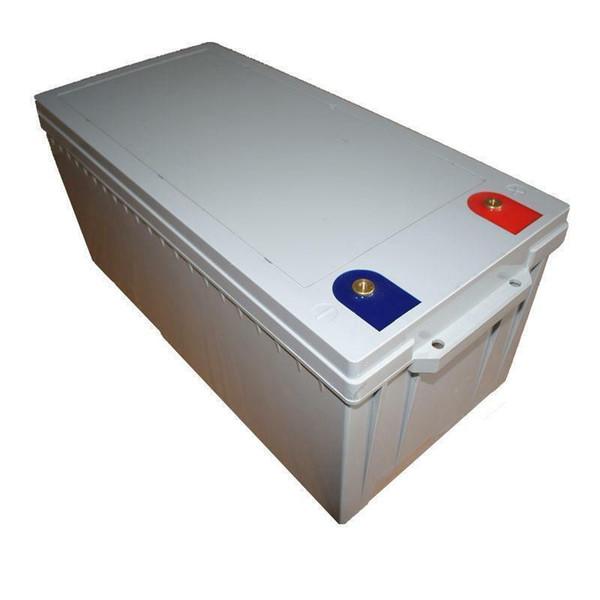 Batteria LiFePO 4 12v 250ah litio-ferro-fosfato 12 V 3200w + BMS duty-free