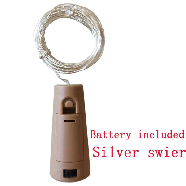 Silber Swire / 2M 20LED