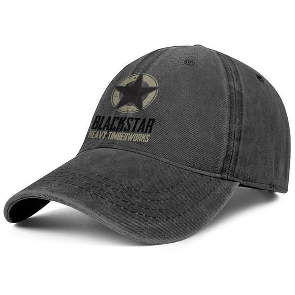 Blackstar Logo black High sales hats,Cowboy hat for men and women Cowboy hat baseball styles designer trucker cap baseball customize hats